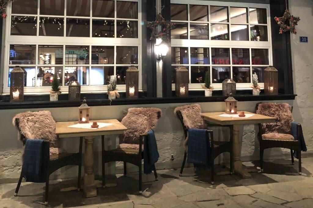 Zermatt'ın şirin restoranları