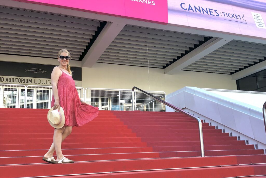 Cannes Film Festivali'nin düzenlendiği bina