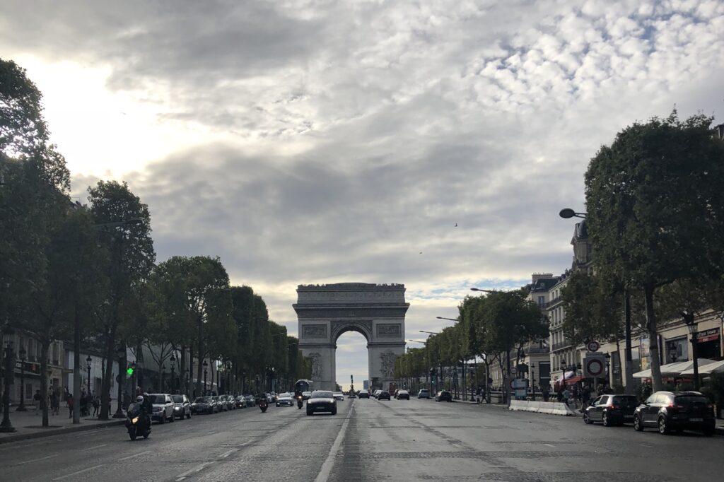 Champs-Elysees Caddesi