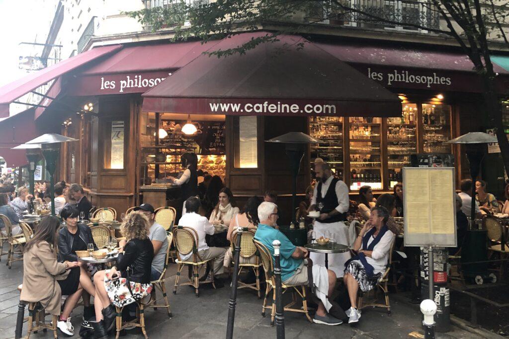 Le Marais'deki favori mekanım Les Philosophes